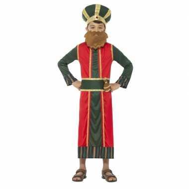 Koning caspar kerst verkleedkleding voor jongens