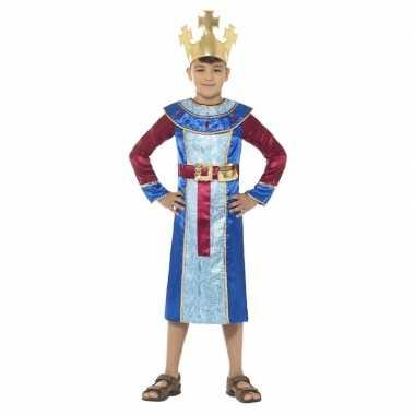Koning melchior kerst verkleedkleding voor jongens