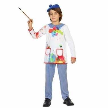Kunstenaar/schilder verkleedkleding voor kinderen