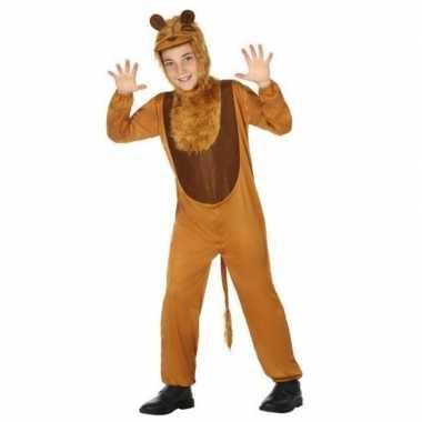 Leeuw verkleedkleding verkleedset voor kinderen