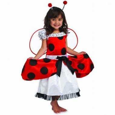 Lieveheersbeestje kinder verkleedkleding