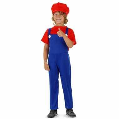 Loodgieter mario pak rood voor jongens
