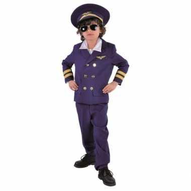 Luxe piloten verkleedkleding voor kinderen