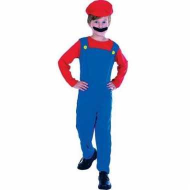 Mario verkleedkleding voor kinderen