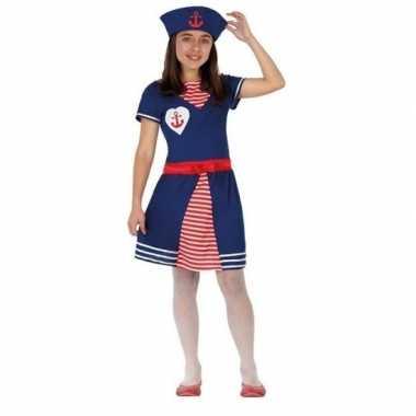 Matroos verkleedkleding voor meisjes
