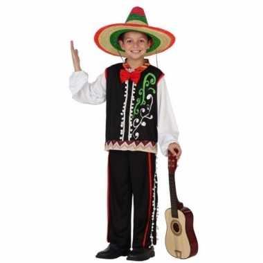 Mexicaanse muzikant verkleedkleding voor jongens
