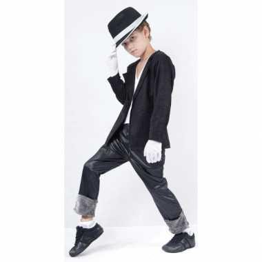 Michael verkleedkleding voor kinderen + hoed