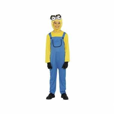 Mini verkleedkleding geel jongen