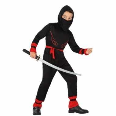 Ninja verkleedkledingvoor jongens