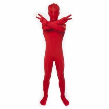 Originele kinder morphsuit rood