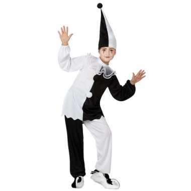 Pierrot clown verkleedkleding voor kids