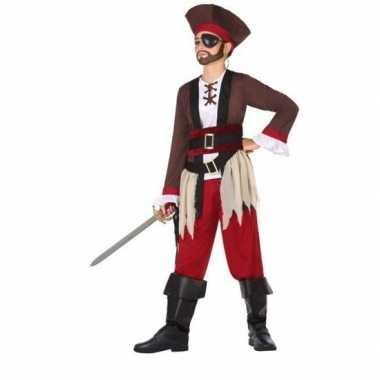 Piraten kapitein verkleedkleding voor jongens