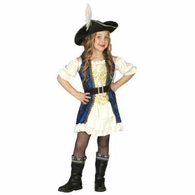 Piraten kapitein verkleedkleding voor meisjes