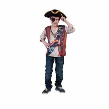 Piraten t shirt 3d print voor kids