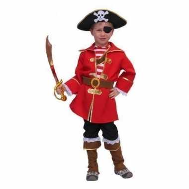 Piratenpak kapitein jongens