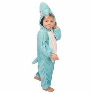 Pluche dolfijnen verkleedkleding kinderen