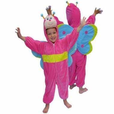 Pluche vlinder verkleedkleding voor kinderen