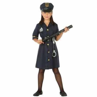 Politie agent uniform verkleedkleding voor meisjes