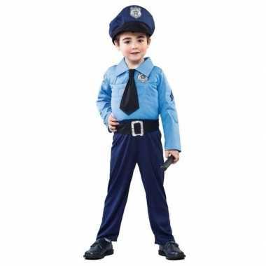 Politie/agent verkleedkleding voor jongens