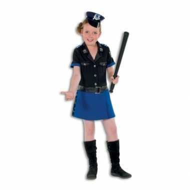 Politie verkleedkleding deluxe voor meisjes