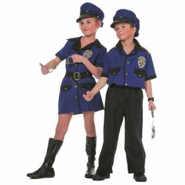 Politie verkleedkleding meisjes