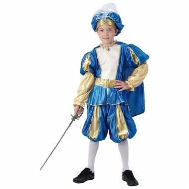 Prins verkleedkleding met hoed voor jongens
