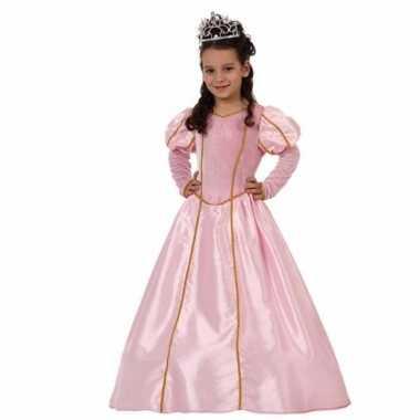 Prinsessen verkleedkleding voor meisjes roze