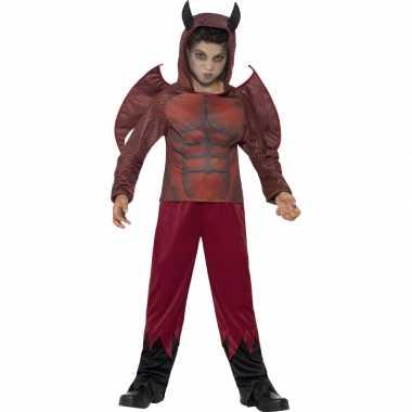 Rode duivel verkleedkleding voor kinderen