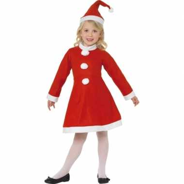 Rood kerst verkleedkleding voor meisjes