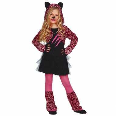Roze katten pakje voor meisjes