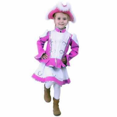 Roze majorette verkleedkleding voor meisjes