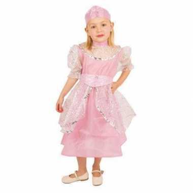 Roze prinsessen verkleedkleding meisjes