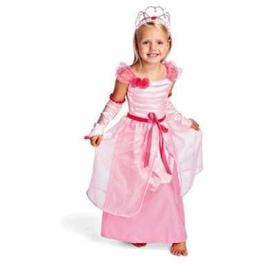 Roze prinsessen verkleedkleding voor kids