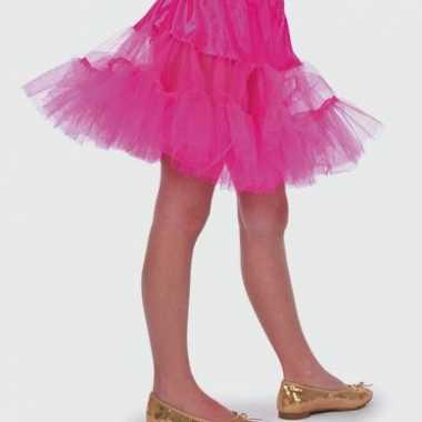 Roze tule verkleedkleding voor meisjes