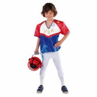Rugby speler verkleedkleding voor kinderen