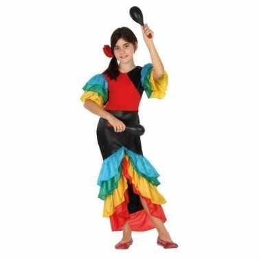Samba rumba flamenco dans verkleedkleding voor meisjes