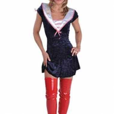 Sexy sailor meisje verkleedkleding