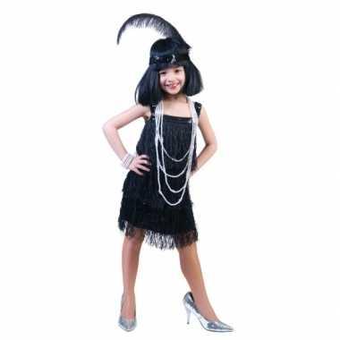 Showgirl verkleedkleding voor meisjes