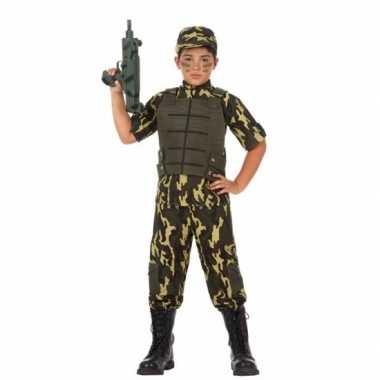 Soldaat/leger verkleedkleding voor jongens