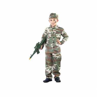 Soldaatje spelen verkleedkleding voor jongens