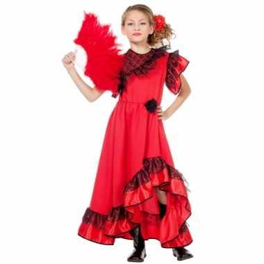 Spaanse carmen verkleedkleding voor meisjes