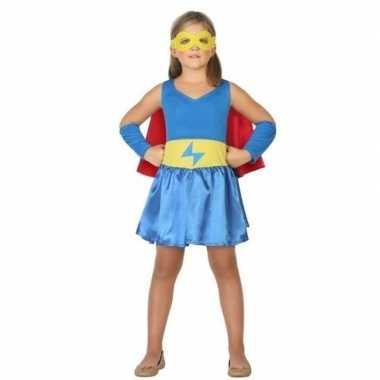 Supergirl verkleedkleding voor meisjes