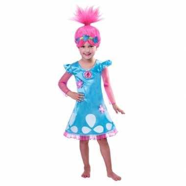 Trolls verkleedkleding poppy voor kids