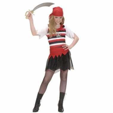 Vekleedkleding piraten verkleedkleding meisje