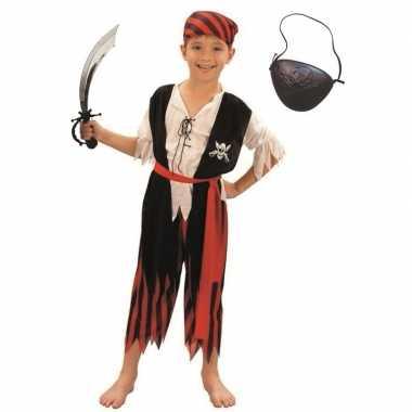 Verkleed piraten verkleedkleding voor kinderen maat m
