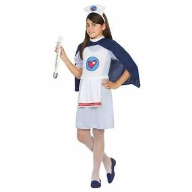 Verpleegster/zuster uniform verkleedkleding voor meisjes