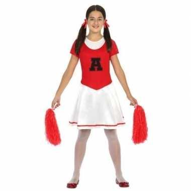 Voordelig cheerleader verkleedkleding voor meisjes