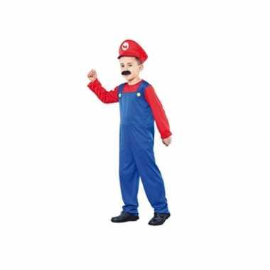 Voordelig loodgieter verkleedkleding voor een kind