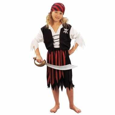 Voordelig piraten verkleedkleding voor meisjes