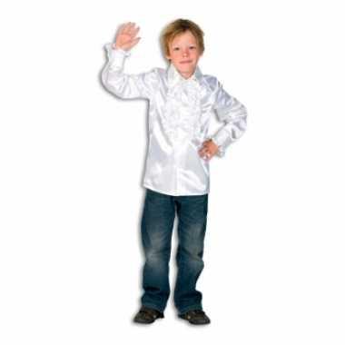 Witte hippie verkleedkleding voor jongens
